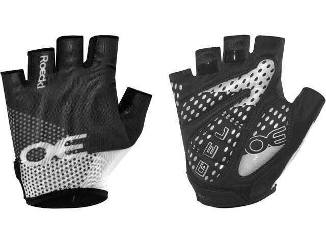 Roeckl Idro Gants, black/white
